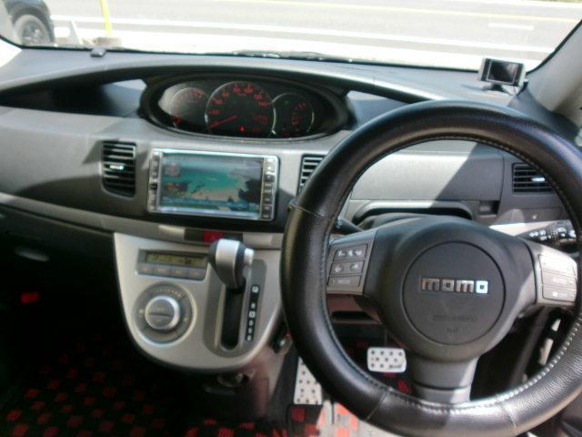 ダイハツ ムーヴ カスタム RS スポルザエアロ キーフリー HDDナビTV