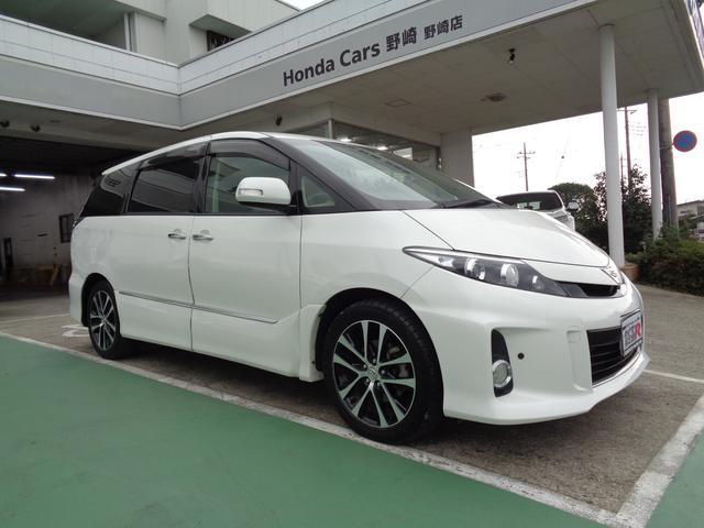 「トヨタ」「エスティマ」「ミニバン・ワンボックス」「栃木県」の中古車4
