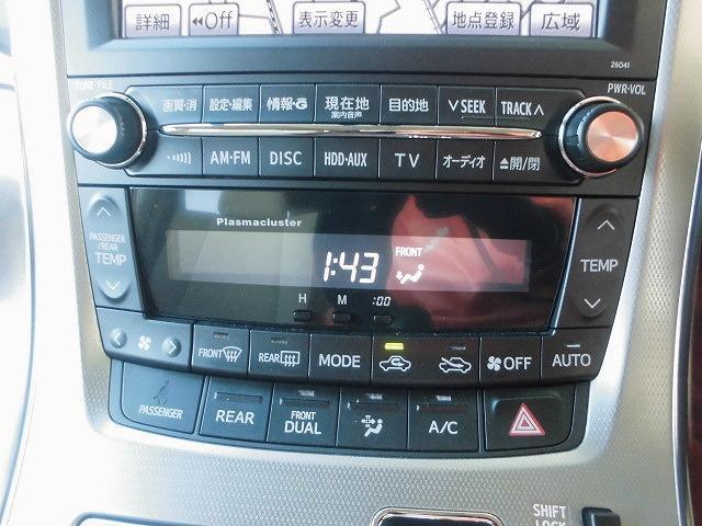 トヨタ アルファード 240G/WPSD・メーカーナビ・フル