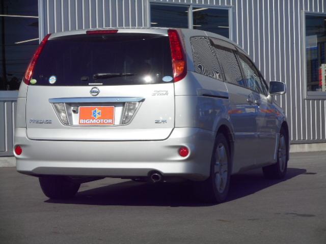 日産 プレサージュ ハイウェイスター 4WD ナビ