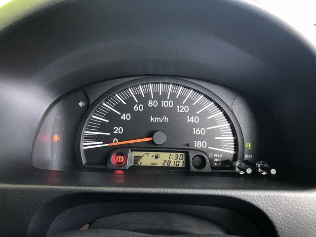 UL Xパッケージ ワンオーナー 5速マニュアル 走行28100km台 全席パワーウインドウ 電動格納ミラー 純正キーレス 間欠調整ワイパー プライバシーガラス ヘッドライトレベライザー シートリフター センターテーブル(44枚目)