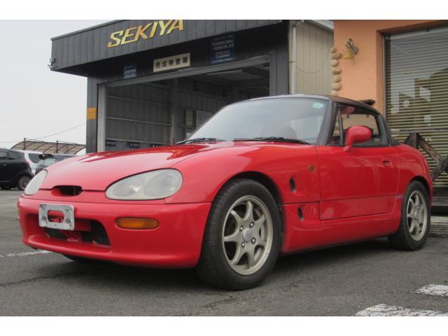 「スズキ」「カプチーノ」「オープンカー」「栃木県」の中古車3