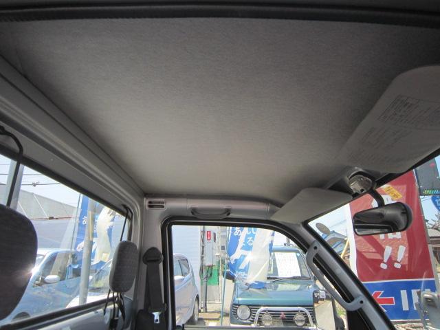 禁煙車なので天井もきれいです!