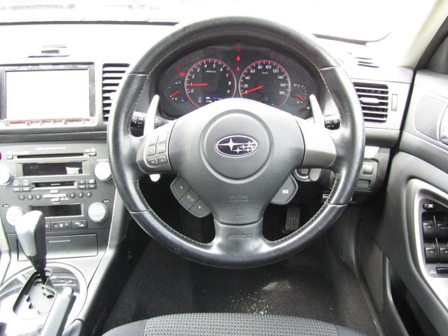 スバル レガシィツーリングワゴン 2.0GT HDDナビ フルセグTV フルタイム4WD