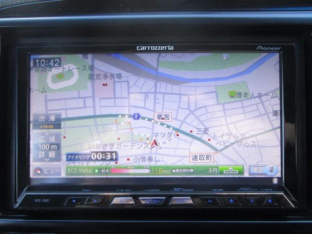 XL 禁煙車 無限エアロ HPIサクションキット CUSCOタワーバー ローダウン 社外マフラー ドライブレコーダー ETC サイバーナビ フルセグTV Bluetoothオーディオ ミュージックサーバー(2枚目)