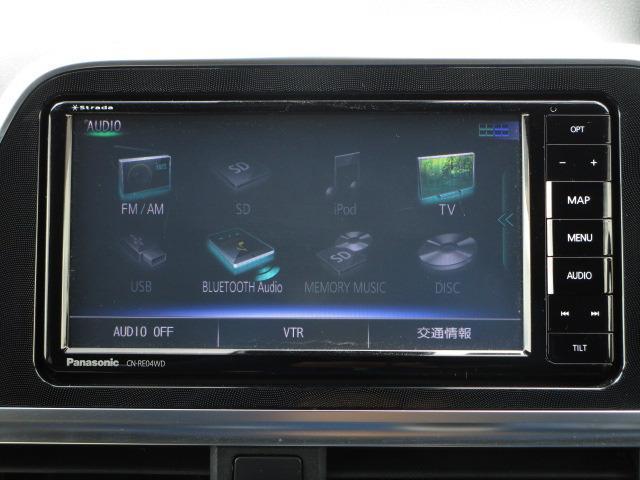 G クエロ 禁煙車 StradaSDナビ フルセグTV走行中視聴可 バックカメラ 衝突軽減ブレーキ LEDヘッドライト フォグランプ 両側電動スライドドア Bluetoothオーディオ ハーフレザーシート(6枚目)