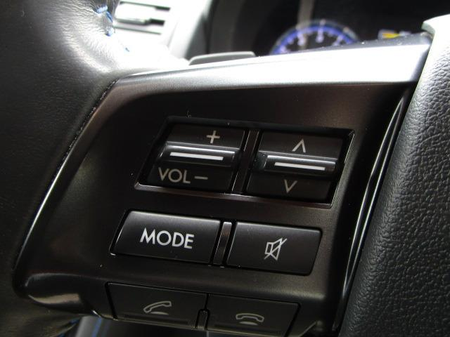 1.6GT-Sアイサイト 禁煙車 純正Stradaナビ 電動シート LEDヘッドライト オートライト フォグランプ フルセグTV バックカメラ ビルトインETC アイサイトver3 衝突軽減 アダプティブクルーズコントロール(28枚目)