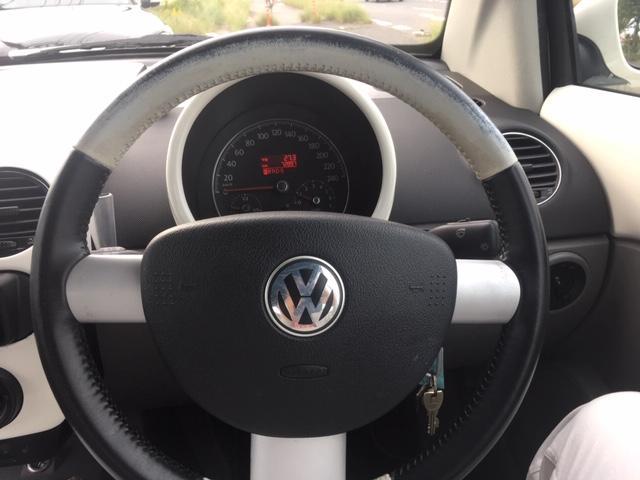 フォルクスワーゲン VW ニュービートルカブリオレ LZ 禁煙車 記録簿 バルブボディー交換済