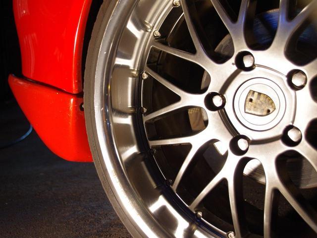 ポルシェ ポルシェ D車5速GT3仕様深リム19バリ溝コンチ車高調ゲンバラMUF