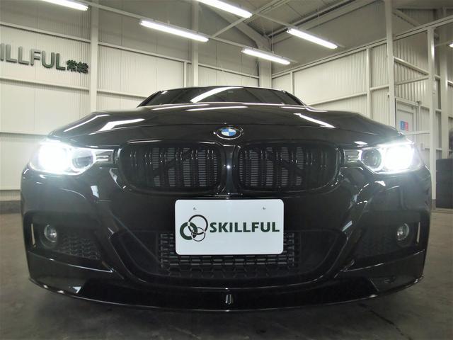 BMW BMW 320iMスポーツエアロBBS19AWビルシュサス4本マフラ