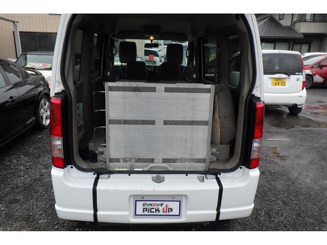 ウィズ 車いす移動車 リヤシート付 電動固定式 禁煙車(5枚目)