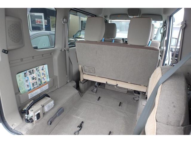 ウィズ 車いす移動車 リヤシート付 電動固定式 禁煙車(18枚目)