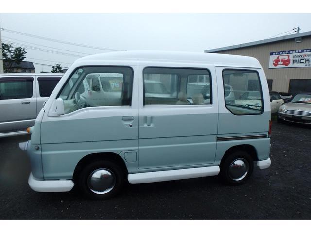 かろやかSC4WDバス仕様外装ペイント済み内装ホワイト加工(9枚目)