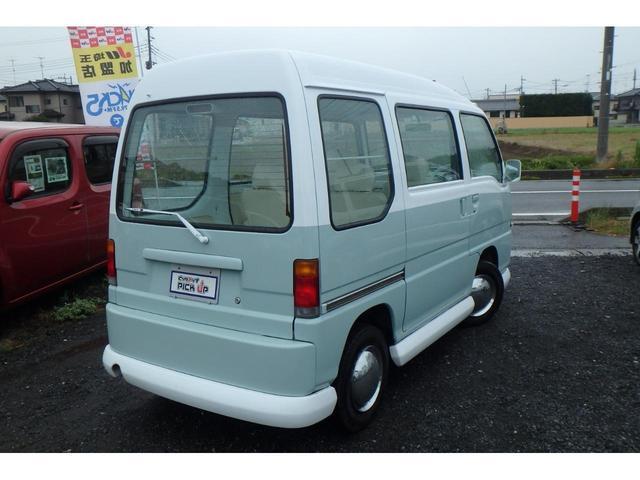 かろやかSC4WDバス仕様外装ペイント済み内装ホワイト加工(10枚目)