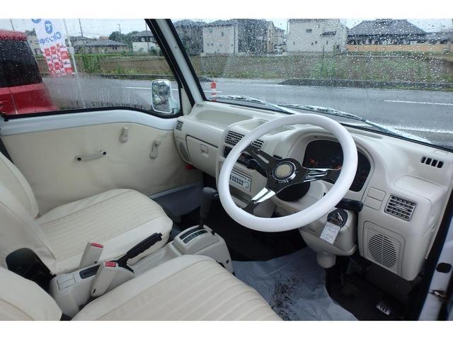 かろやかSC4WDバス仕様外装ペイント済み内装ホワイト加工(23枚目)