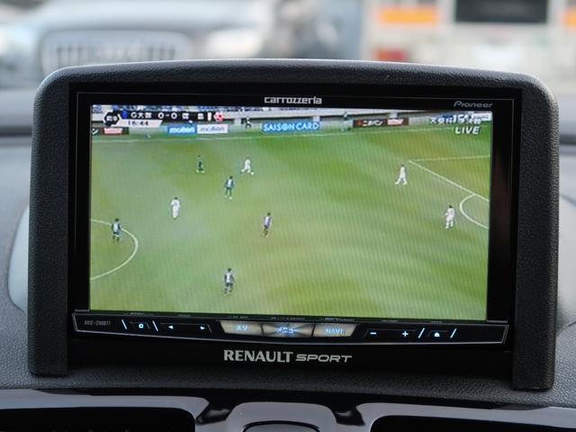 ルノー スポール 後期モデル サーバーナビ フルセグTV DVD再生 Bluetooth バックカメラ クルコン レカロシート ブレンボブレーキ コーナーセンサー ワンオーナー 禁煙車(25枚目)