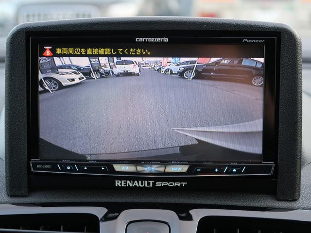 ルノー スポール 後期モデル サーバーナビ フルセグTV DVD再生 Bluetooth バックカメラ クルコン レカロシート ブレンボブレーキ コーナーセンサー ワンオーナー 禁煙車(26枚目)