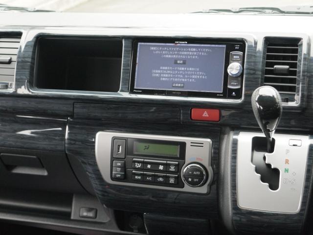 トヨタ ハイエースワゴン グランドキャビン 4WD ローダウン ナビ フリップダウン