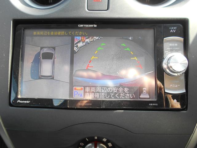 X 社外ナビ ワンセグTV エマージェンシーブレーキ アラウンドビューモニター ETC(11枚目)