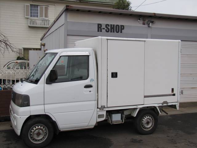 三菱 ミニキャブトラック パネルバン 保冷車 オートマパワステエアコン