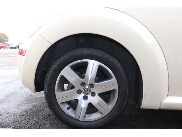 フォルクスワーゲン VW ニュービートル LZベージュ革シートヒーターサンルーフバックソナーCDETC