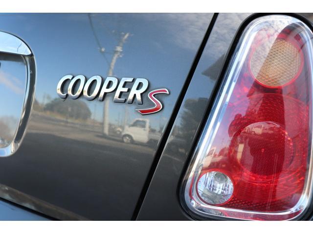 クーパーS パークレーン黒革シートヒーター付 CD ETC(11枚目)