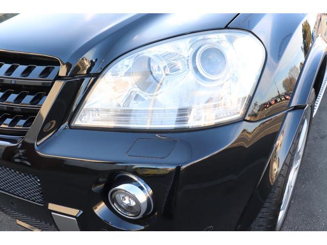 ML63 AMG 黒革シートヒーター サンルーフ HDDナビ D車(22枚目)
