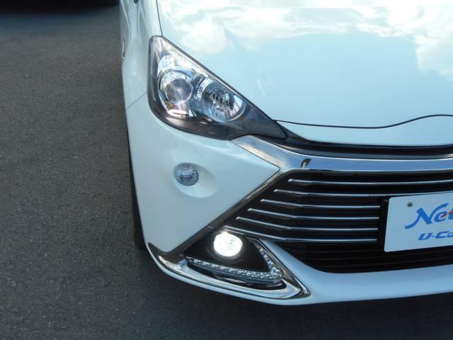 トヨタ アクア G G's フルセグSDナビ バックモニター LEDライト