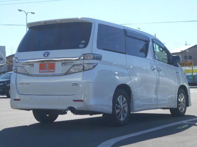 トヨタ ヴェルファイアハイブリッド HV ZRGエディション・純正H