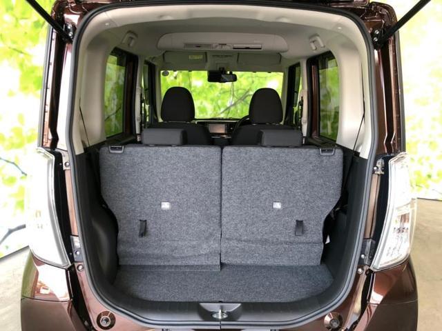 開口部も広く荷物の載せ降ろしもラクラク。日常使いには十分なスペースを確保しています。