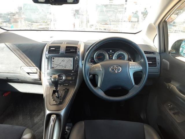 G 純正 HDDナビ/シート ハーフレザー/ヘッドランプ HID/EBD付ABS/横滑り防止装置/エアバッグ 運転席/エアバッグ 助手席/エアバッグ サイド/アルミホイール/パワーウインドウ ワンオーナー(4枚目)