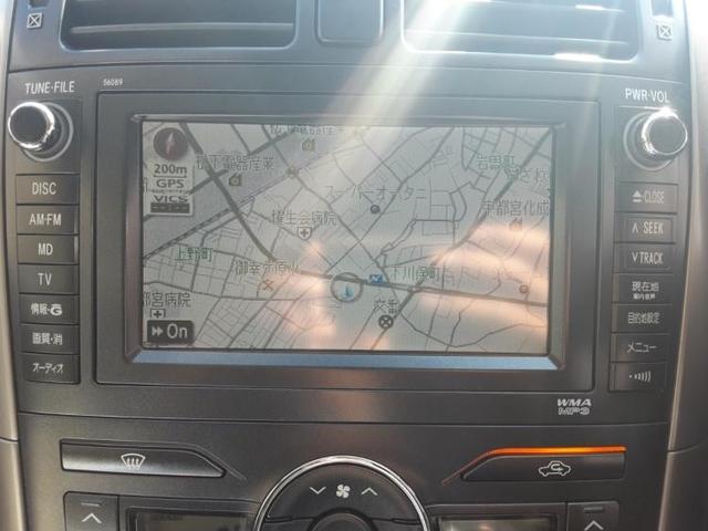 G 純正 HDDナビ/シート ハーフレザー/ヘッドランプ HID/EBD付ABS/横滑り防止装置/エアバッグ 運転席/エアバッグ 助手席/エアバッグ サイド/アルミホイール/パワーウインドウ ワンオーナー(9枚目)