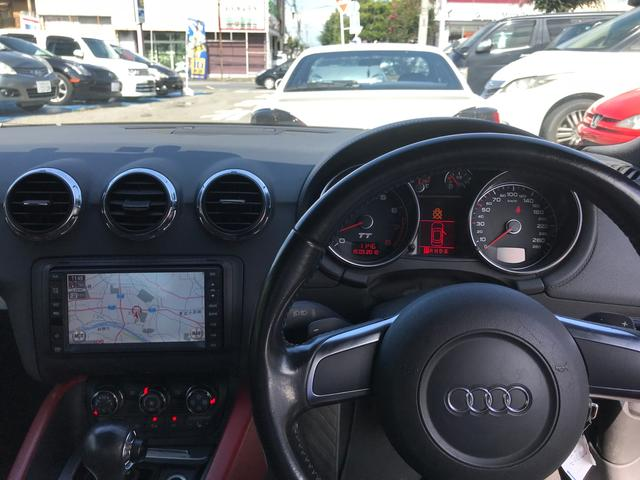 アウディ アウディ TTクーペ 3.2クワトロ HDDナビ バックカメラ 赤革シート