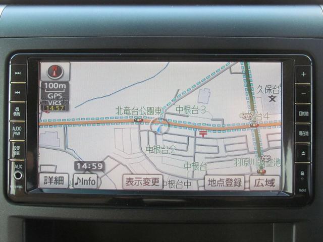 トヨタ ヴェルファイア 2.4X改 HDDナビ CD DVD フルセグ Bカメラ