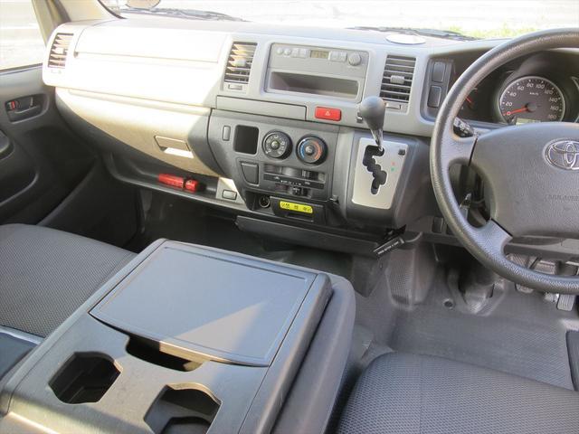 トヨタ ハイエースバン ロングDX・純正オーディオ・ETC装備・禁煙車