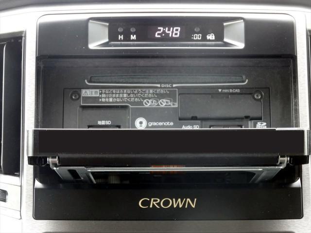 トヨタ クラウンハイブリッド ロイヤル SDナビ CD DVD フルセグ Bカメラ ETC