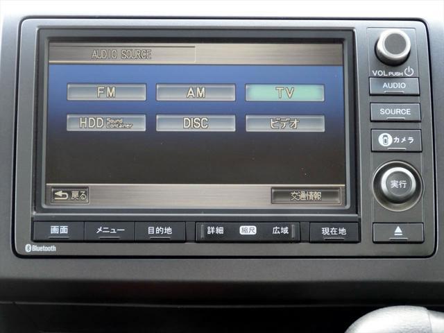 ホンダ ステップワゴンスパーダ Z HDDナビ CD DVD ワンセグ B・F・Sカメラ付