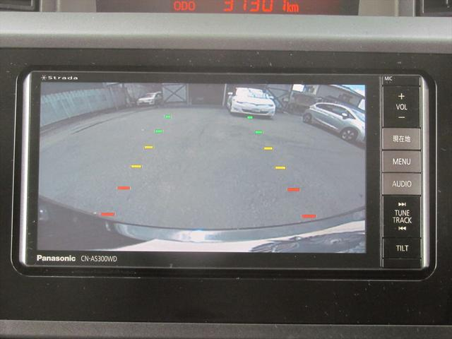 バックカメラ装備なので、車庫入れや駐車の時も安心楽々です!!