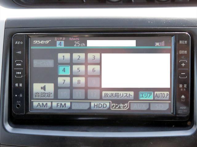 X HDDナビ CD DVD ワンセグTV Bカメラ装備(16枚目)