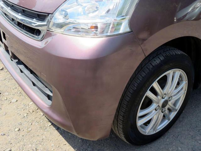 左フロント部分へこみ傷や擦り傷有り。 また、素人塗装後もありますのでご注意下さい!!