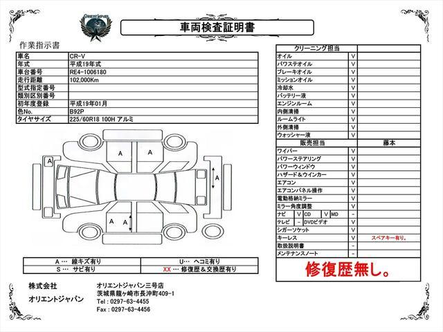 「ホンダ」「CR-V」「SUV・クロカン」「茨城県」の中古車27