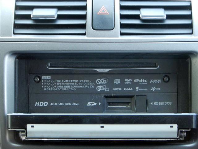 X Gエディション スマートキー HDDナビ CD DVDプレイヤー ミュージックサーバー SDカードスロット バックカメラ ETC 盗難防止装置装備(14枚目)