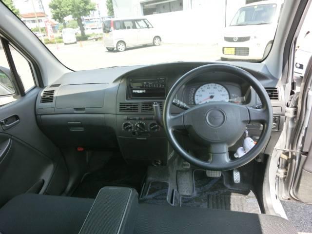 視界が高いので周囲が見やすく運転しやすいです!