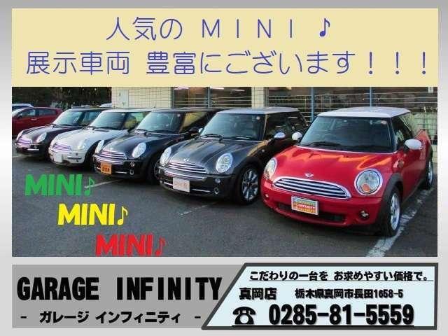 MINI MINI クーパー 後期型 走7.3万km 純15AW 記録簿
