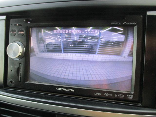 社外ナビが装備されております♪画面もクリアで見やすく運転中も確認しやすいです♪ワンセグTVとDVDの視聴もお楽しみ頂けます♪