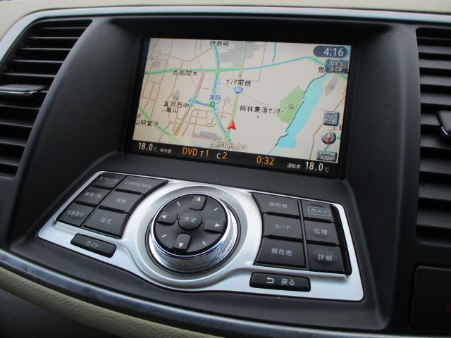 純正HDDナビが装備されております♪画面もクリアで見やすく運転中も確認しやすいです♪DVDの視聴もお楽しみ頂けます♪ミュージックサーバー機能も搭載されており、好みの音楽を録音してお楽しみ下さい♪