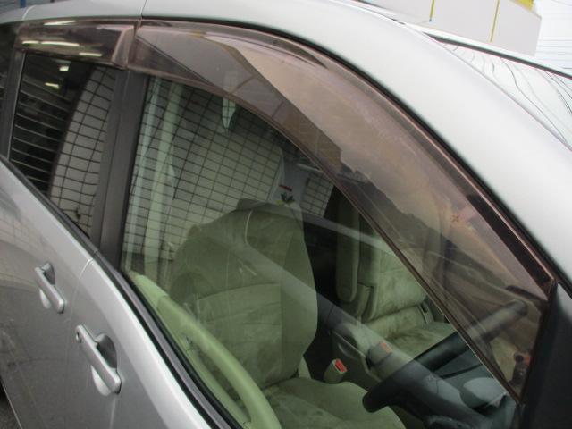 ドアバイザーも完備されております♪雨の日でも車内の換気が出来ます♪