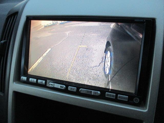 サイドカメラが装備されておりますので細い道の走行や幅寄せ等もモニターで確認出来ますので安心です♪