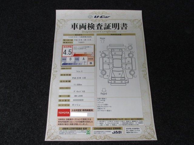 トヨタ ラッシュ X  SDナビ ETC アルミホイール