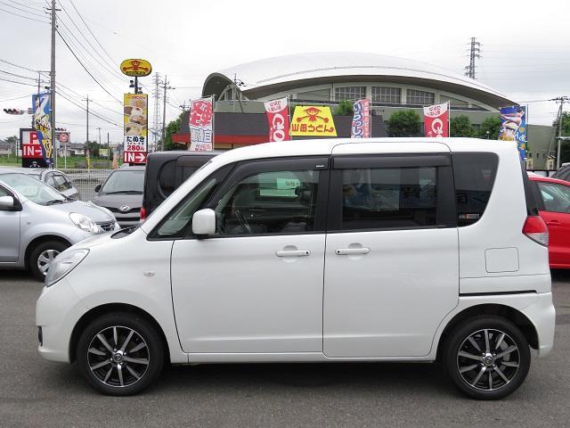 スズキ ソリオ G 純正ナビ、地デジ、新品アルミ、新品タイヤ、左電動SD